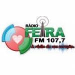 Logo da emissora Rádio Feira 107.7 FM