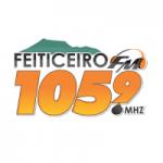 Logo da emissora Rádio Feiticeiro 105.9 FM