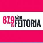 Logo da emissora Rádio Feitoria 87.9 FM