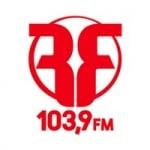 Logo da emissora Rádio Feliz de Pádua 103.9 FM
