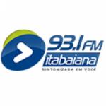 Logo da emissora Rádio FM Itabaiana 93.1 FM
