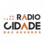 Logo da emissora Rádio Cidade das Árvores 1500 AM
