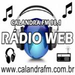 Logo da emissora Rádio Calandra FM
