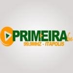 Logo da emissora Rádio Primeira FM 99.9