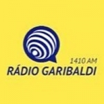 Logo da emissora Rádio Garibaldi 1410 AM