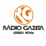 Logo da emissora Rádio Gazeta 1260 AM