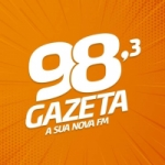 Logo da emissora Rádio Gazeta 98.3 FM