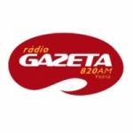 Logo da emissora Rádio Gazeta 820 AM