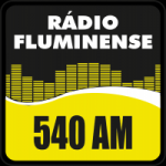 Logo da emissora Rádio Fluminense 540 AM