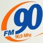Logo da emissora Rádio FM 90