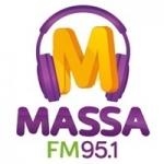 Logo da emissora Rádio Massa 95.1 FM