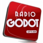 Logo da emissora Radio Godot