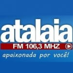 Logo da emissora Rádio FM Atalaia 106.3