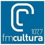 Logo da emissora Rádio FM Cultura 107.7 FM