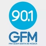 Logo da emissora Rádio GFM 90.1 FM