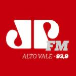 Logo da emissora Rádio Jovempan 93.9 FM
