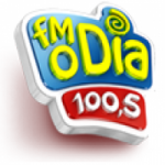 Logo da emissora Rádio FM O Dia 100.5