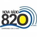 Logo da emissora Rádio Nova 820 AM
