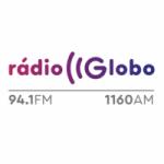 Logo da emissora Rádio Globo Londrina 94.1 FM 1160 AM