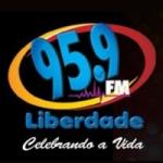 Logo da emissora Rádio FM Liberdade 95.9 FM