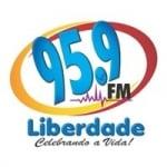 Logo da emissora Rádio Liberdade 95.9 FM