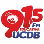 Logo da emissora Rádio FM Educativa UCDB 91.5