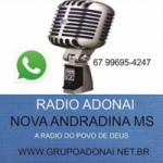 Logo da emissora Rádio Adonai
