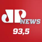 Logo da emissora Rádio Jovem Pan News FM 93.5