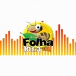 Logo da emissora Rádio Folha 101.3 FM