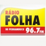 Logo da emissora Rádio Folha de Pernambuco 96.7 FM