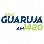 Logo da emissora Rádio Guarujá 1420 AM