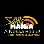 Logo da emissora Rádio Santa Mania