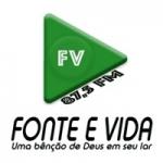 Logo da emissora Rádio Fonte e Vida 87.5 FM