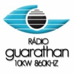 Logo da emissora Rádio Guarathan 860 AM
