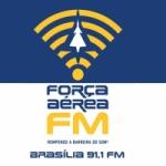 Logo da emissora Rádio Força Aérea 91.1 FM
