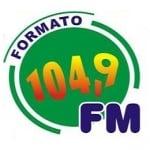 Logo da emissora Rádio Formato 104.9 FM