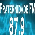 Logo da emissora Rádio Fraternidade 87.9 FM