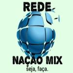 Logo da emissora Rádio Rede Nação Mix
