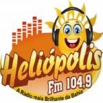 Logo da emissora Rádio Heliópolis 104.9 FM