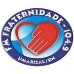 Logo da emissora Rádio Fraternidade 104.9 FM