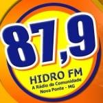 Logo da emissora Rádio Hidro 87.9 FM
