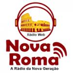 Logo da emissora Rádio Nova Roma FM