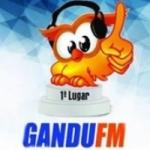 Logo da emissora Rádio Gandu 88 FM