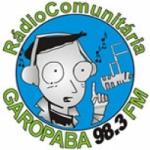 Logo da emissora Rádio Garopaba 98.3 FM