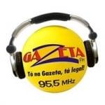 Logo da emissora Rádio Gazeta 95.5 FM