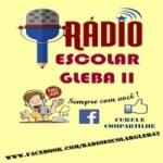Logo da emissora Rádio Escolar Gleba II