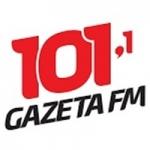 Logo da emissora Rádio Gazeta 101.1 FM