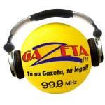 Logo da emissora Rádio Gazeta 99.9 FM