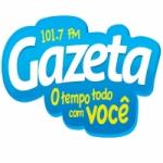 Logo da emissora Rádio Gazeta 101.7 FM