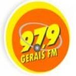 Logo da emissora Rádio Gerais 97.9 FM